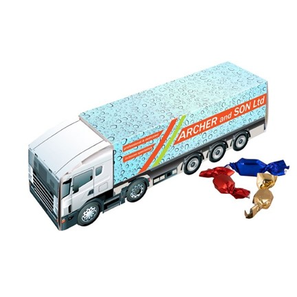 Truck - bus - bestelauto  metallic sweets