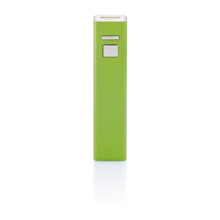 2.200 mAh powerbank, groen