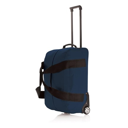 Basic weekend trolley, blauw