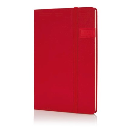 Data notitieboek met 4GB USB, rood