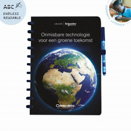 Whiteboard book soft cover A4