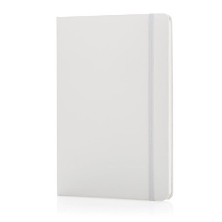 A5 Basic hardcover notitieboek, wit