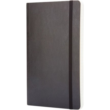 Classic L soft cover notitieboek - gestippeld