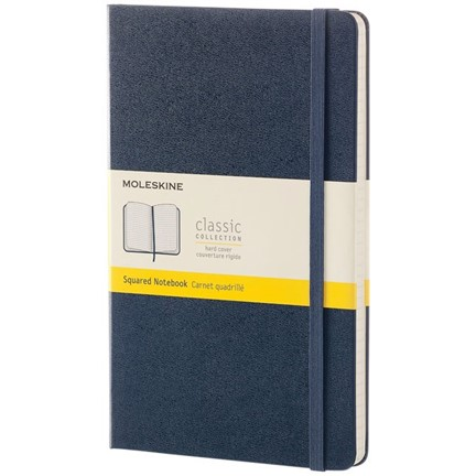 Classic L hard cover notitieboek - ruitjes