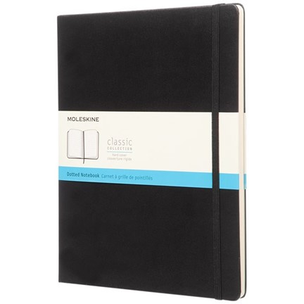 Classic XL hard cover notitieboek - stippen