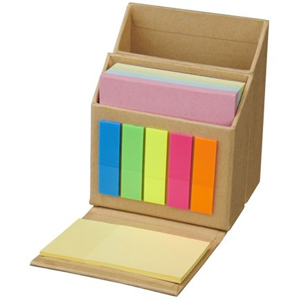 Sticky notes en bureau organiser